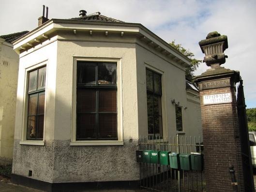 Koepel van Berkenrode aan de Herenweg Heemstede