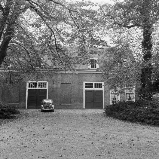 Voormalig koetshuis IPenrode (foto G.J.Dukker, 1968)