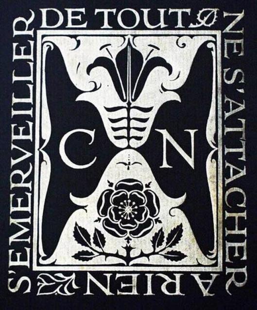 Nog een exlibris ontworpen voor J.Krol door Sjoerd H.de Roos in 1897