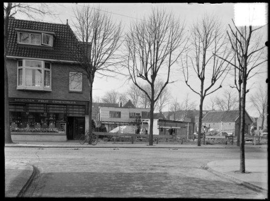 Na afbraak van café Landzicht (NHA), 1930