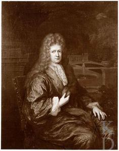Mattheus Lestevenon. Schilderij van Constantijn Netscher uit 1693