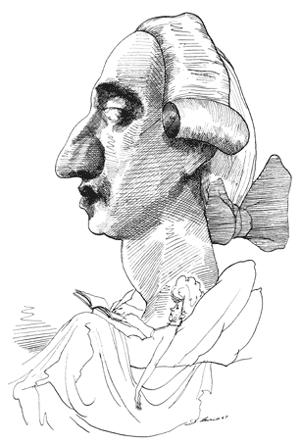 Giacomo Casanova; door David Levine