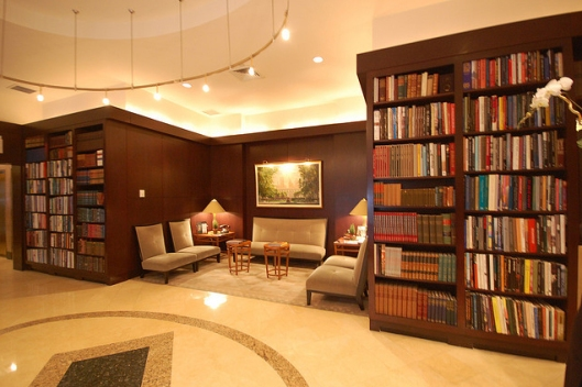 Kamer in Library Hotel, New York