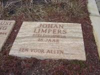 Graf van Johan Limpers op erebegraafplaats in de gemeente Bloemendaal