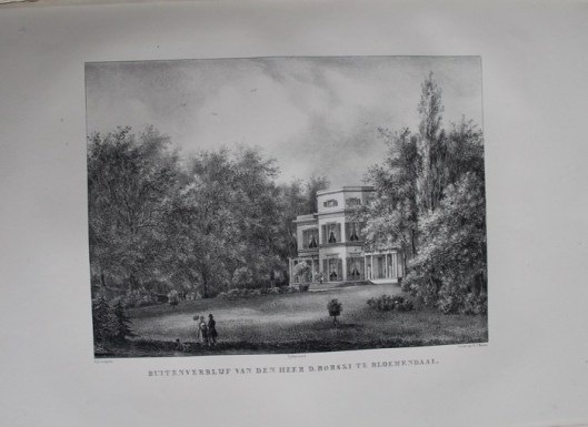 Buitenverblijf van D.Borski te Bloemendaal, genaamd Lindenheuvel (P.J.Lutgers)
