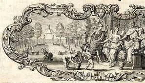 Vignet op titelblad van Linnaeus' Hortus Cliffortianus