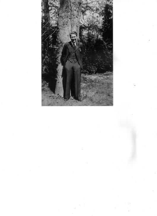 In 1940 of 1941 genomen foto van Henk Loeb