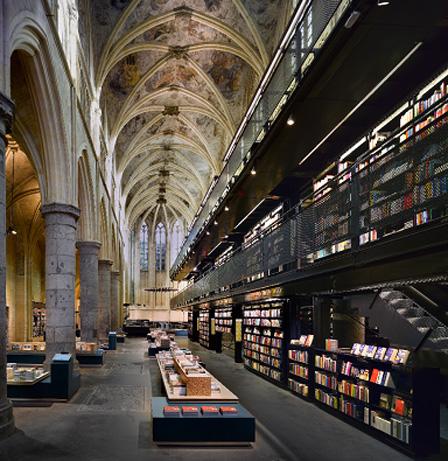 Boekhandel Maastricht in de voormalige Dominicaner kerk
