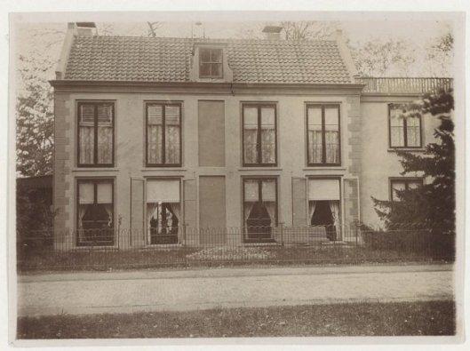 De villa Manpdshoek in Heemstede, circa 1900