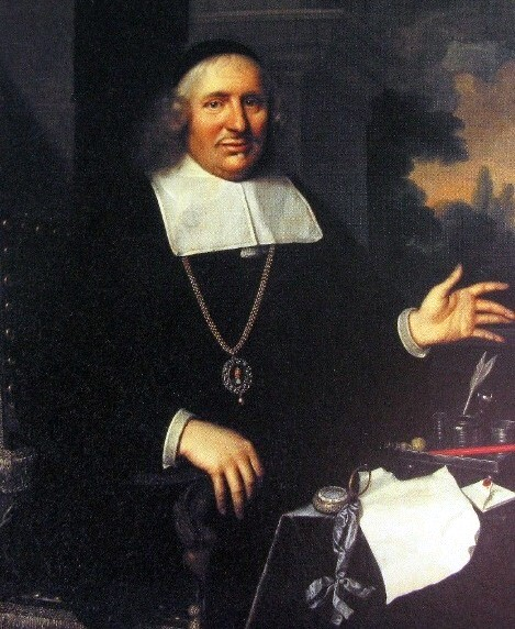 Olieverfschilderij met portret van Gabriel Marselis (1609-1679)