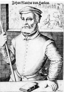 Portret van Jan Matthys (Jan van Haarlem (circa 1500-1534)