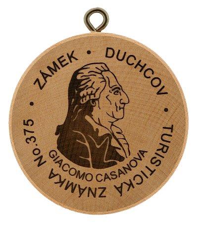 Medaille gewijd aan Dux en Casanova