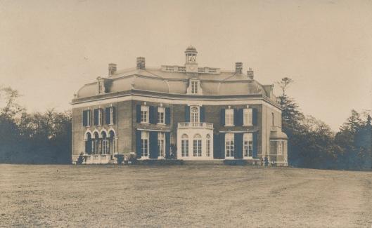 Foto van het nieuwe Meer en Berg uit omstreeks 1920