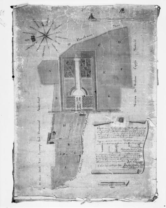 Kaart van de vm. buitenplaats Meermin (Rijksdienst voor Cultureel Erfgoed)
