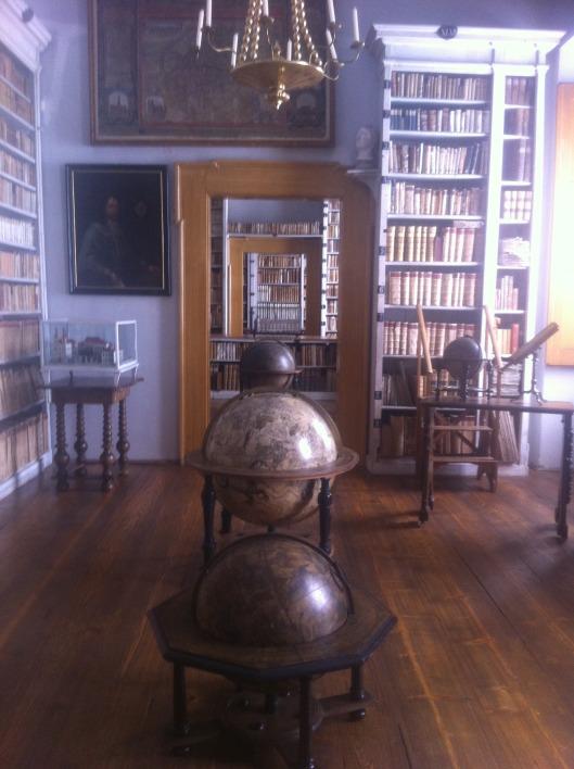 Nog een foto van de Mnichovo-boekerij in Tsjechië
