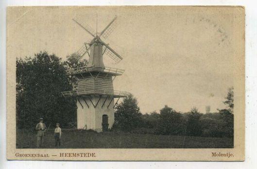 Molentje van Groenendaal, circa 1920