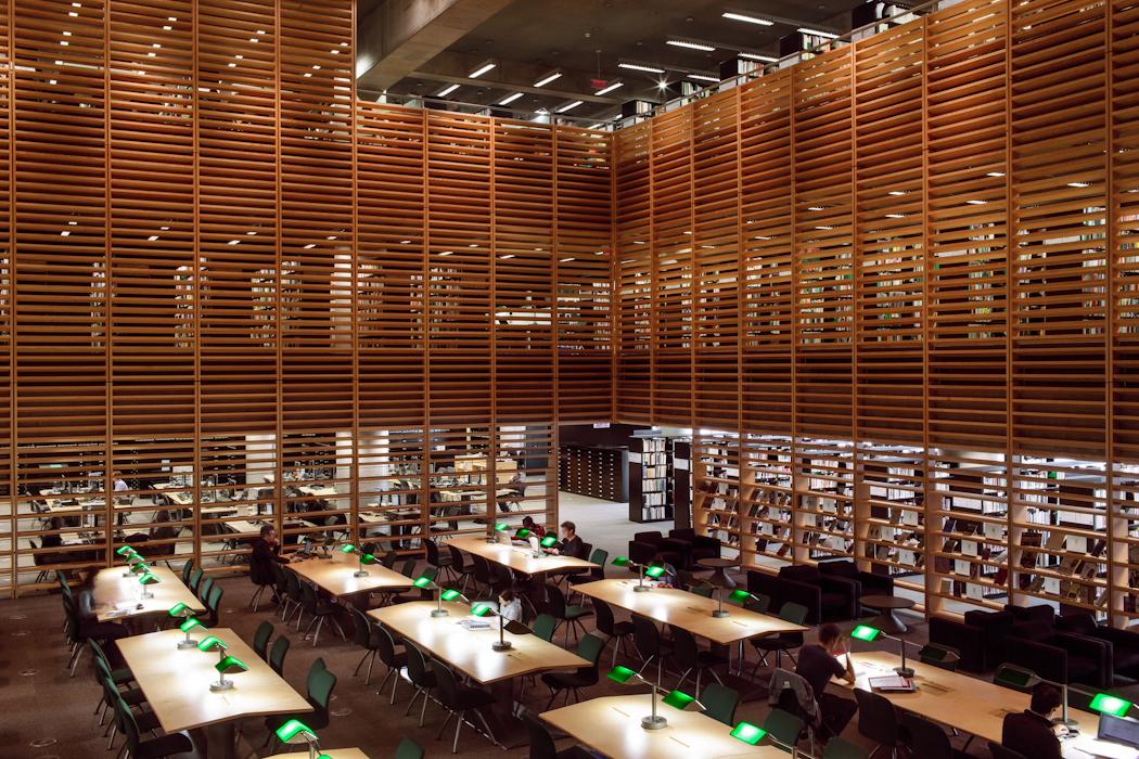 Bezoek aan bibliotheken in v s en canada 2005 librariana - Interieur bibliotheek ...