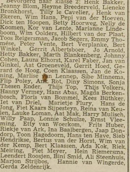 In 1942 was Harry Mulisch leerling van het Eerste Christelijk Lyceum (Haarlemsche Courant, 14-7-1942), In 1943 werd hij bevorderd naar klas 4 van het ECL.