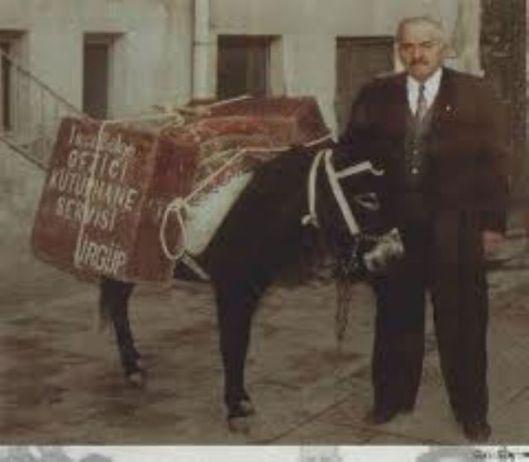Mustafa Güzelgöz en de door hem opgezette dienst om het platteland van Capadocië van boeken te voorzien