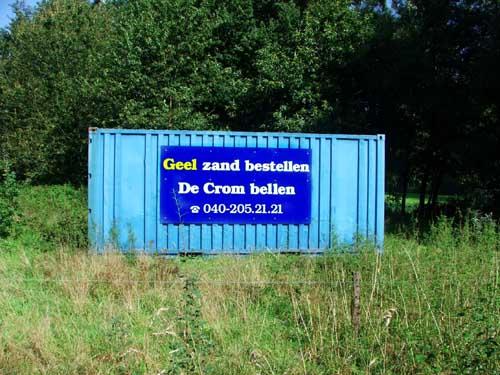 Middenstandsrijm midden op een weiland (Cubra)