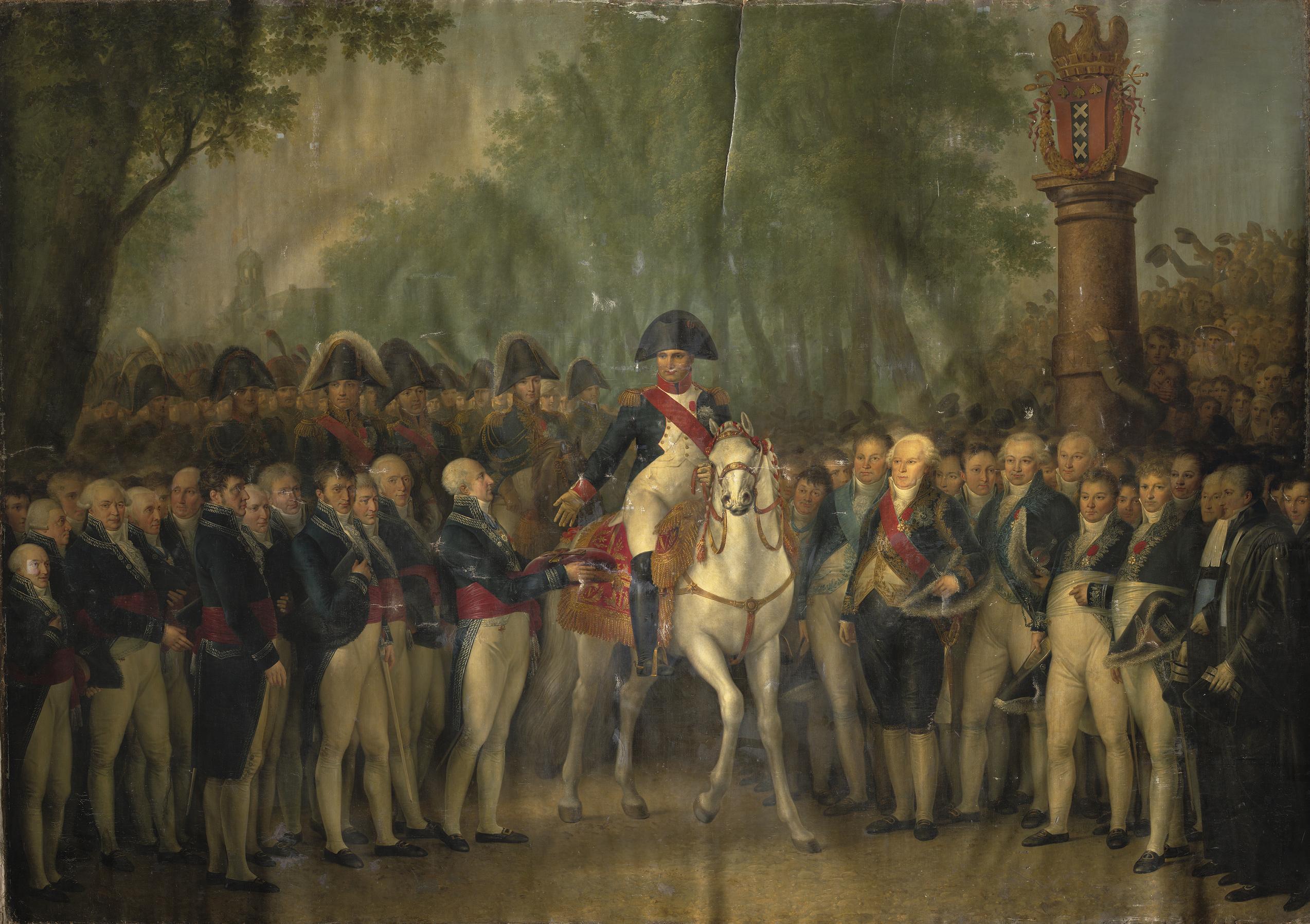 Napoleon in haarlem en heemstede librariana - Bron schilderijen ...