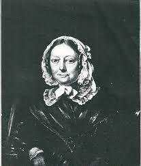 Geschilderd portret van Margaretha Jacoba de Neufville