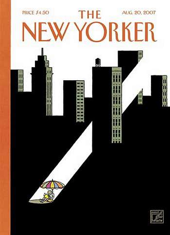 Joost Swarte. Editie The New Yorker, Dec. 10, 2007