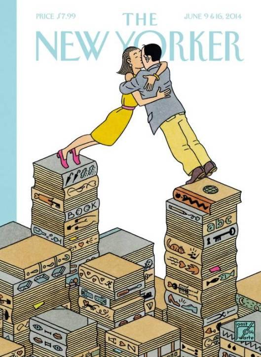 Joost Swarte Editie The New Yorker 9-16 June, 2014
