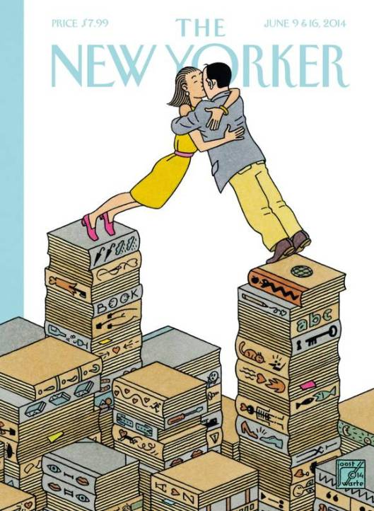 Joost Swarte Editie The New Yorker 9-16 June, 2014