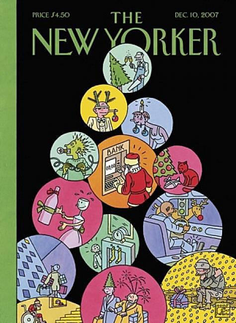 Joost Swarte. Editie The New Yorker. Dec. 10, 2007