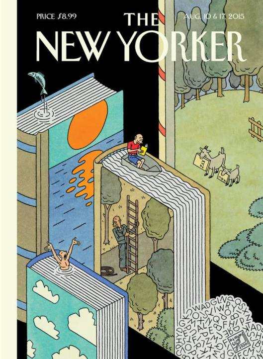 Illustratie van Joost Swarte in The New Yorker, Aug. 17, 2015