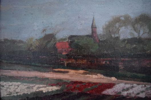 A.C.van Noort: Bloembollenveld