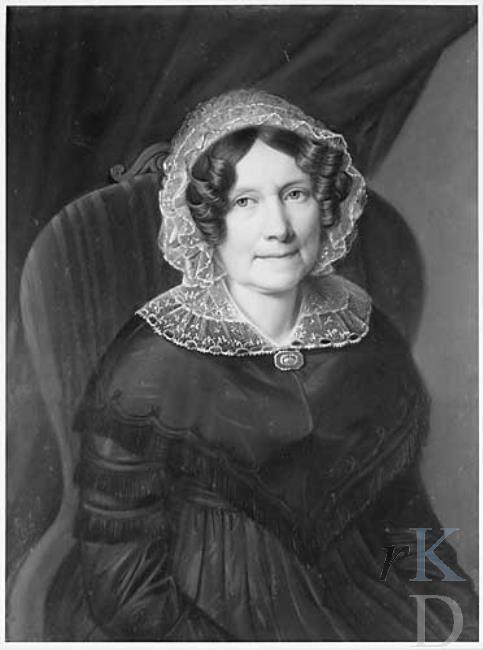 Johanna Maria Nutges (1784-1858) Portret togeschreven aan Heinrich Siebert (RKD)