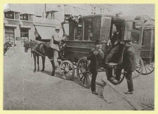 Omnibusdienst Haarlem - Heemstede - Hoofddorp, 1900