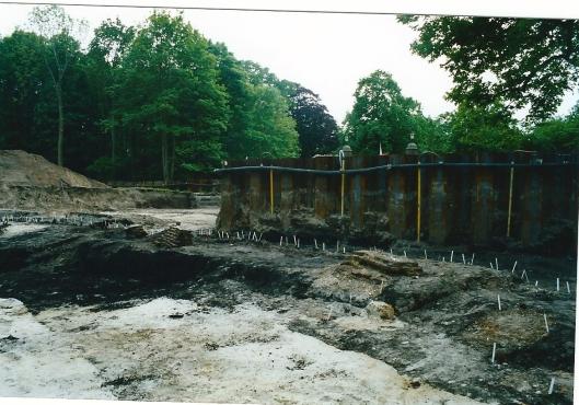 Foto van opgravingen op Hageveld in 2004