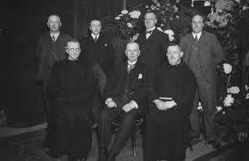 Bestuur van de leeszaal Oss in 1930