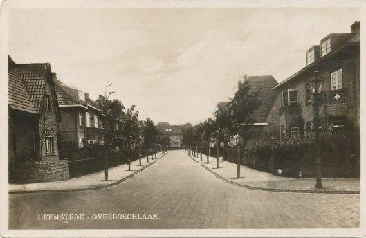 De Overboslaan Heemstede in 1932