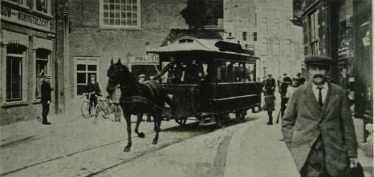 De Haarlemse paardentram in 1912