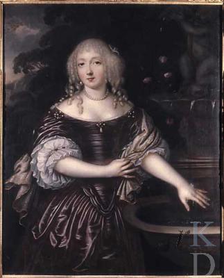 De volgens tijdgenoten beeldschone Anna Christina Pauw, gehuwd met Nicolaas Sohier de Vermandois, en ambachtsvrouwe van Bennebroek van 1697 tot 1719