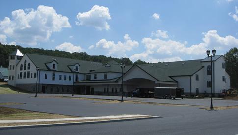 De nieuwe bibliotheek in Perguea (Lancaster, USA)