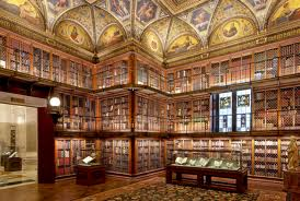Interieur Pierpont Morgan Library
