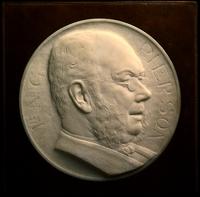 Penningportret met de beeltenis van N.G.Pierson (1839-1909)