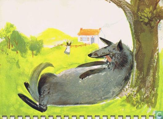 Illustratie uit Kalenderboek Sprookjes 1962