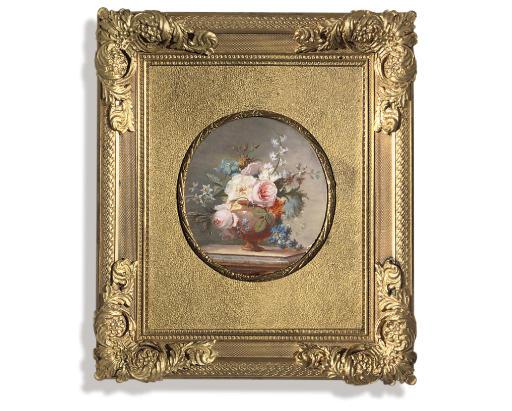 Stilleven van bloemen in een vaas, toegeschreven aan Christiaan van Pol. In 2007 bij Christie's geveild voor bijna 10.000 dollar.
