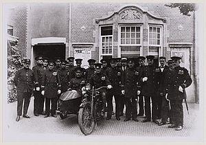 Politiekorps-Boekenrodestraat-1920