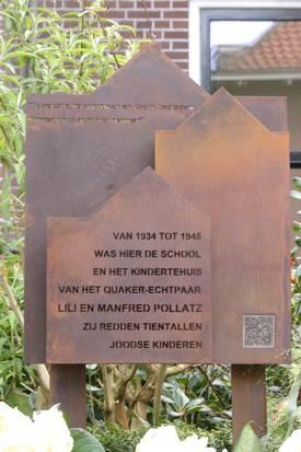Pollatz monument Haarlem (Haarlems Dagblad)