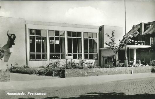 Ansicht van vm. postkantoor circa 1980