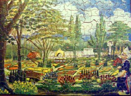 Weekend-puzzle uitgegeven bij gelegenheid van Flora bloemententoonstelling 1935