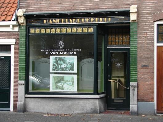 Drukkerij Van Assema, Raadhuisstraat 87