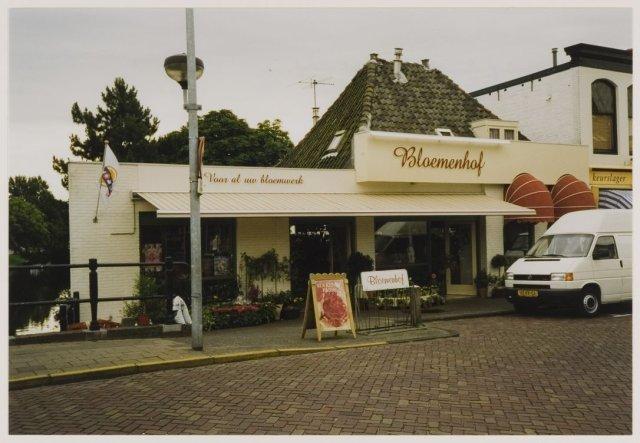De Bloemenhof, Raadhuisstraat 98a, naast de IJzeren Brug Heemstede, 1998 (NHA)